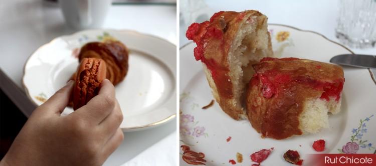 Desayuno-en-Paris-con-macaron-pain