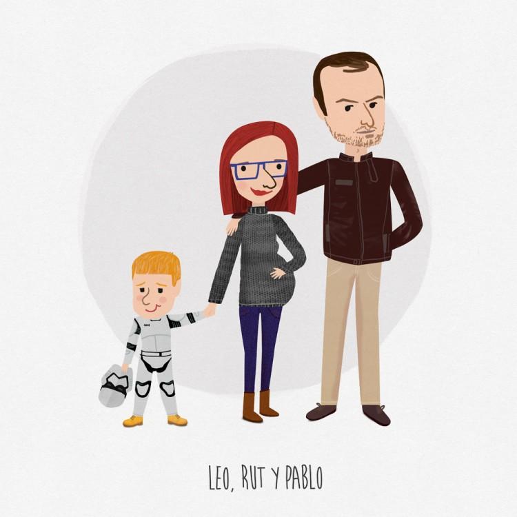 retrato-rutchicote-y-familia