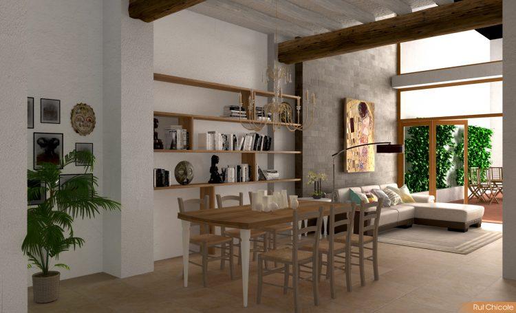 Diseño-de-casa-comedor-rustico-contemporaneo
