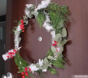 3 coronas de navidad naturales