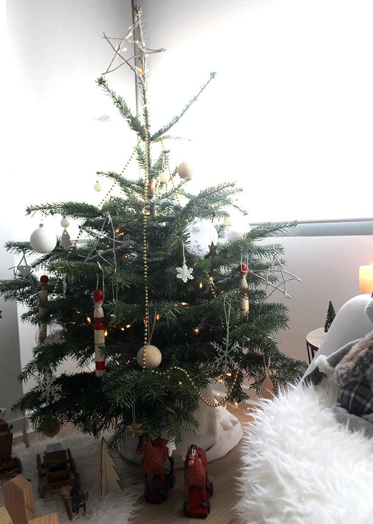 arbol de navidad natural