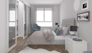 Dormitorio estilo hamptons