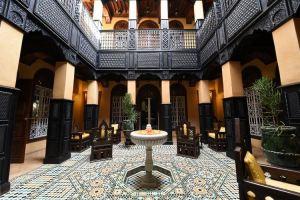 Riads casas tradicionales de Marraquech