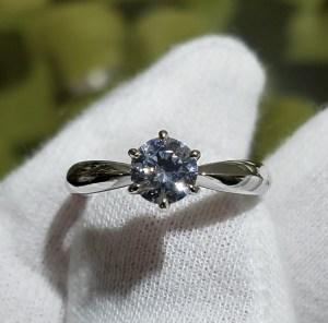 婚約指輪 甲丸タイプ