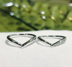 結婚指輪 VラインタイプⅡ
