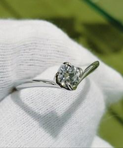 婚約指輪 エンゲージリング(花座タイプⅣ)