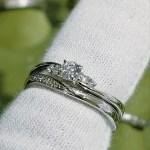 結婚指輪 婚約指輪 セットリング(パターンⅤ)