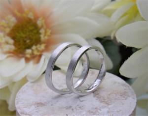結婚指輪 テクスチャーリング