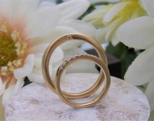 結婚指輪 テクスチャーリング2