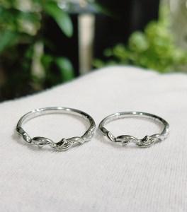 結婚指輪 細身リング (タイプⅢ)