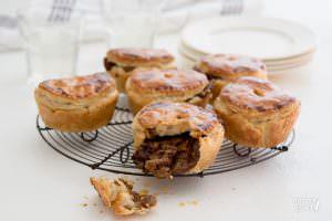Mini pies met Belgisch stoofvlees