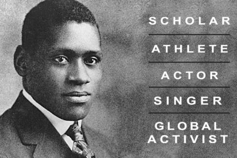 Commercial Avenue Renamed for Paul Robeson | Rutgers University