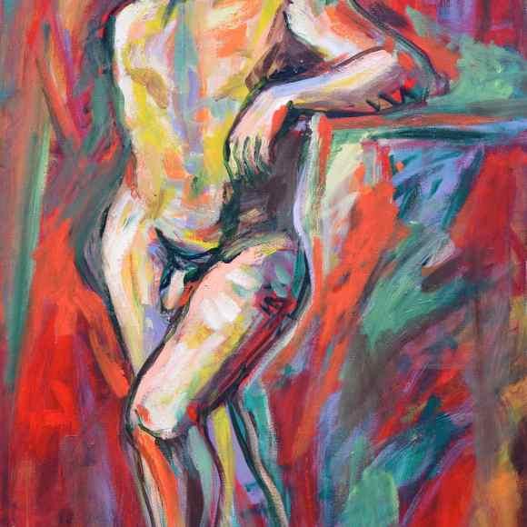 N19 -80 x 120 (2013) - François Felten - Ruth Gallery - Galerie d'Art Luxembourg - Art Gallery Luxembourg