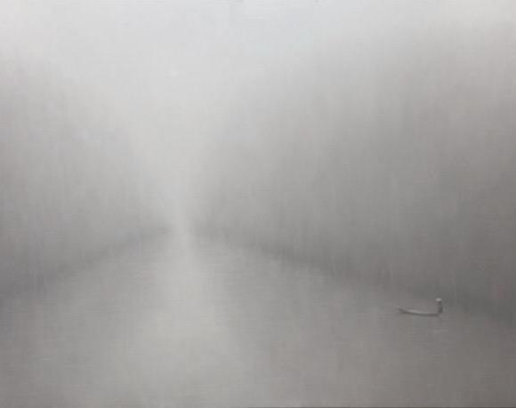 Along the river 120x280 cm - Bui Van Hoan - Luxembourg Art Galerie