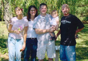 Paige & her husband with Brent & Kristin during the days of dreaming about set apart