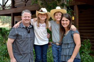 Brent & Kristin Morris family