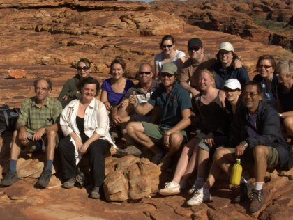 Group in Kings Canyon