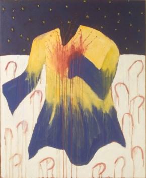 Dance Little Horsie Dance, 1984 acrylic on canvas 134.8 x 109.7 cm Collection of Gary Von Kuster