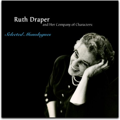 Ruth Draper CD cover