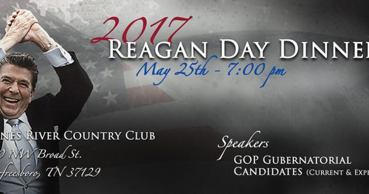 Tickets for the Reagan Day Dinner
