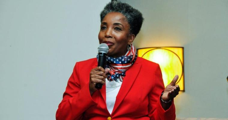 Dr. Carol M. Swain Drew Full House in Murfreesboro