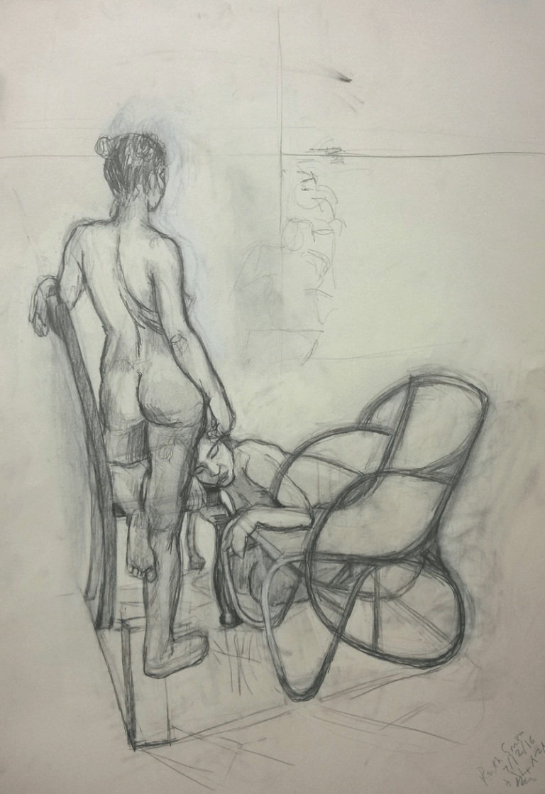 Life drawing - Art by Ruth Helen Smith