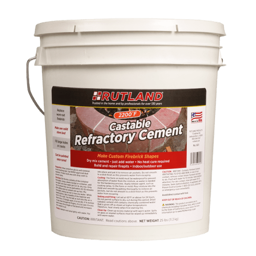 RUTLAND Castable Refractory Cement