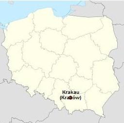 Afbeeldingsresultaat voor krakau landkaart