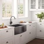 33 Inch Apron Front Farmhouse Kitchen Sink Gunmetal Black Matte Stainless Steel Single Bowl Ruvati Usa