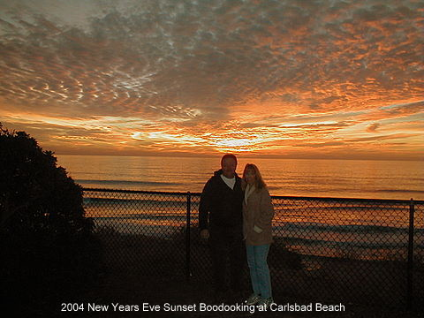 Carlsbad,State,Beach,Sunset,camping,rving