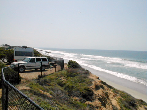 Carlsbad State Beach, San Diego RV Parks, camping