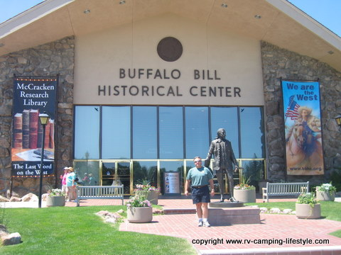 buffalo bill museum,rv camping yellowstone