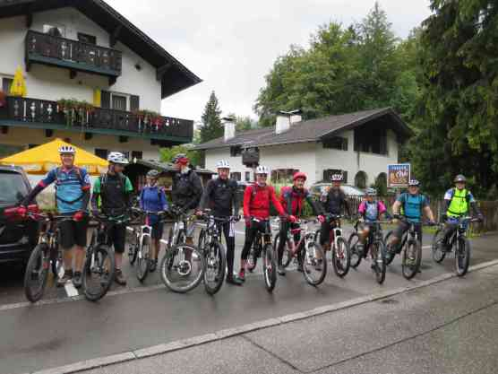 Alpencross Edi Stefan Garmisch-Comer See