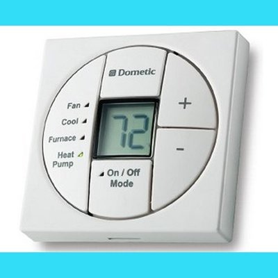 Dometic RV Air Conditioner Single Zone LCD Thermostat and