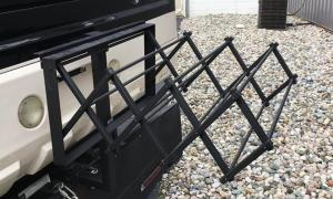 RV EZ Hitch Drying Rack