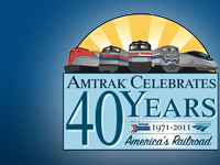 Amtrak Exhibit Train at Staples Mill Road Station on March 3 & 4, 2012