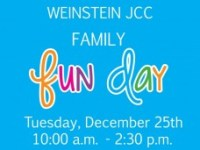 Family Fun Day at Weinstein JCC on December 25, 2012