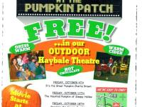 Free Movie: It's the Great Pumpkin, Charlie Brown at The Pumpkin Patch at Tom Leonard's on October 25, 2013