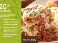 Save 20% at Olive Garden through September 14