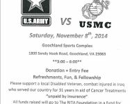Army vs. USMC Basketball in Goochland