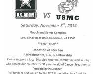 Army vs. USMC Basketball in Goochland