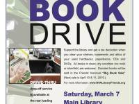 Friends Drive-Thru Book Drive