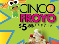 SweetFrog Marks Cinco de Mayo with a Twist!