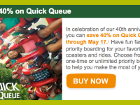 40th Anniversary Savings at Busch Gardens