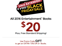 Entertainment Books on Sale NOW