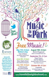 music in the park 2014
