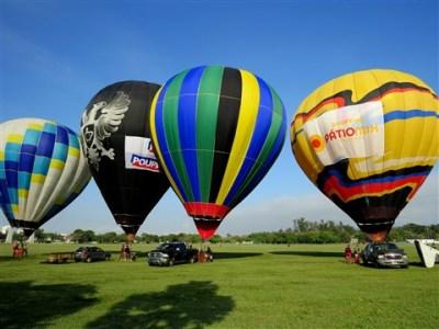 Competição Balonismo Em Resende Começa Hoje Balonismo 2016