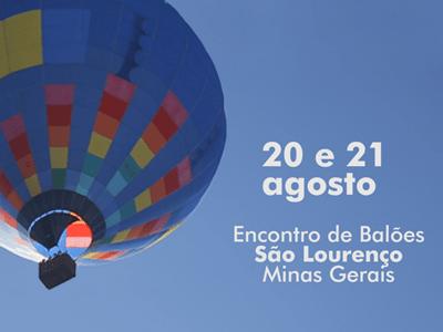 Competição Encontro de Balões em São Lourenço Balonismo 2016
