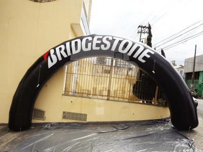Arco Inflável Bridgestone