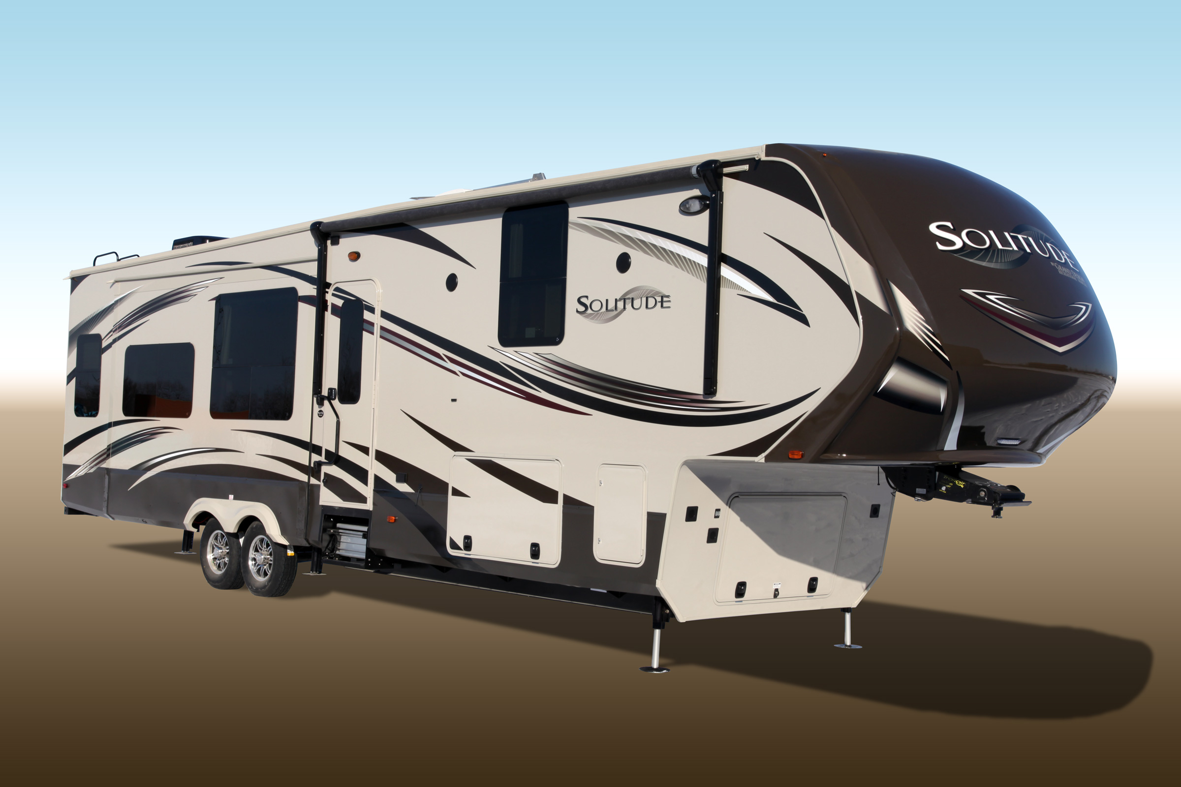 grand design recreational vehicles celebrats 100th solitude fifth wheel RV